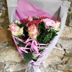 Bouquet de fleurs coupées personnalisé