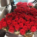200 roses arrivant du MIN de Nantes pour la Saint Valentin