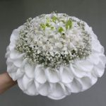 Bouquet de mariée perlé