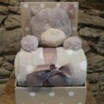 nounours et couverture naissance