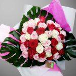 Réalisation d'un bouquet rond
