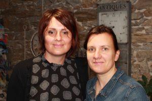 Mathilde et Sylvie, fleuristes ptofessionnelles Au Vertige à Nantes